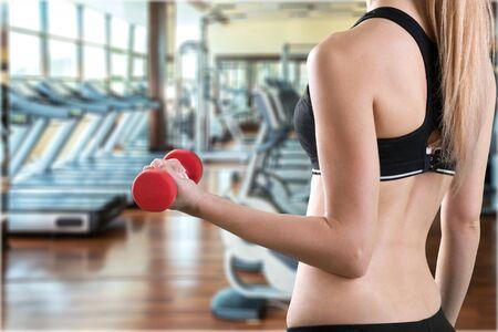 athleticism: Exercising. Stock Photo