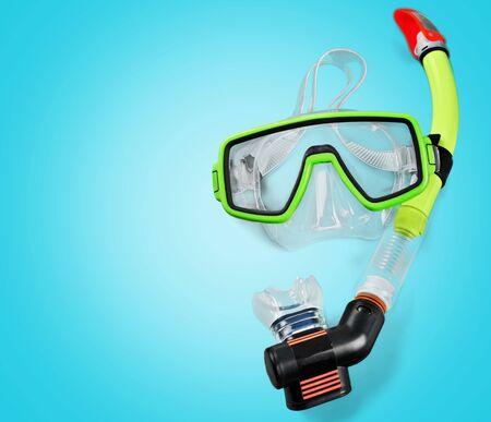 snorkel: Snorkel. Stock Photo