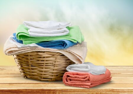 baskets: Laundry.