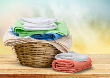 laundry basket: Laundry.