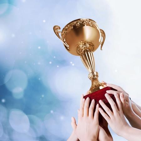 low prizes: Trophy.