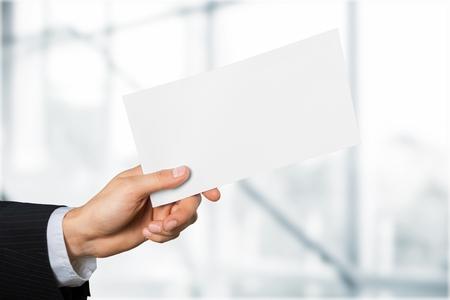receiving: Envelope.