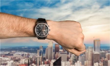 wrist cuffs: Watch.