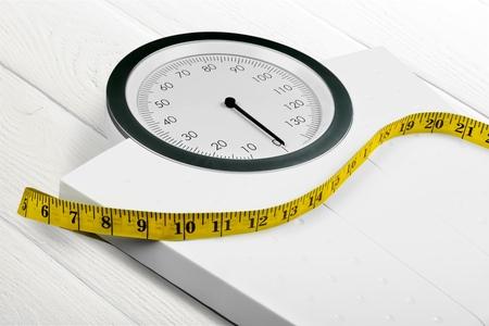 cinta metrica: Escala de peso.