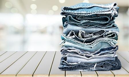 pants down: Jeans.