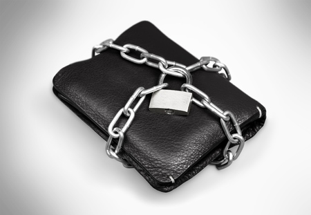 commercial activity: Wallet. Stock Photo