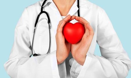 heart in hand: Doctor.