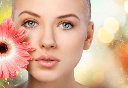 beautiful face: Beauty.