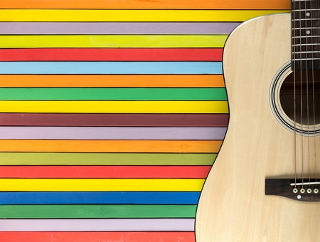 acoustics: Guitar.