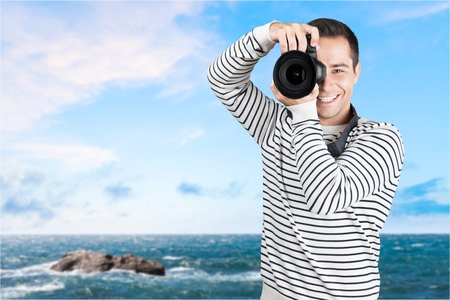 photojournalist: Camera.