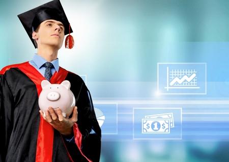 18 19 years: University. Stock Photo