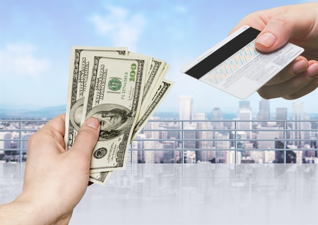 monies: Allowance. Stock Photo