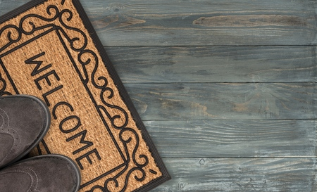 Doormat. Stock Photo - 51284475