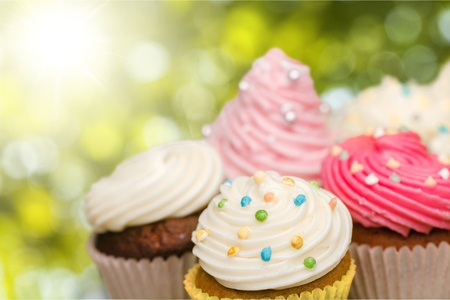 party pastries: Cupcake.