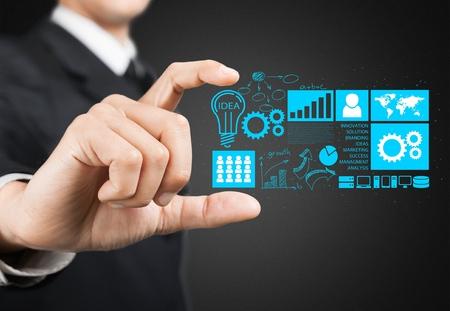 technologie: Affaires. Banque d'images