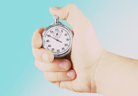 cronógrafo: Tiempo.