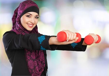aerobics: Arab.