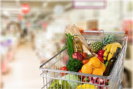 supermarket: Supermarket. Stock Photo