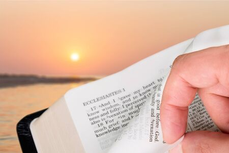 testaments: Bible. Stock Photo