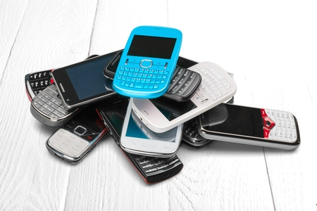 information equipment: Mobile Phone. Stock Photo