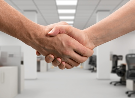 business partner: Partnership. Stock Photo