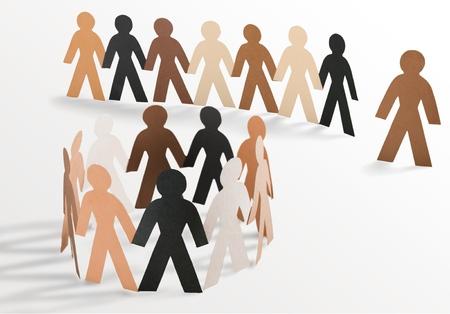 circulo de personas: Comunidad.