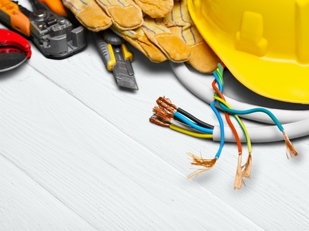 Electrician. Stock Photo - 51609491
