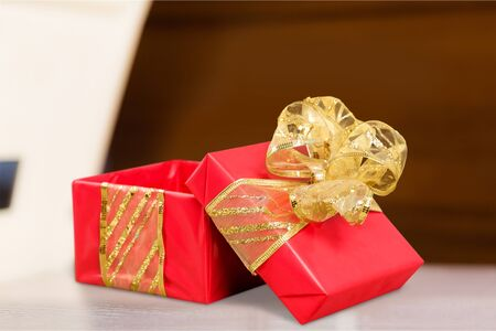 christamas: Gift. Stock Photo