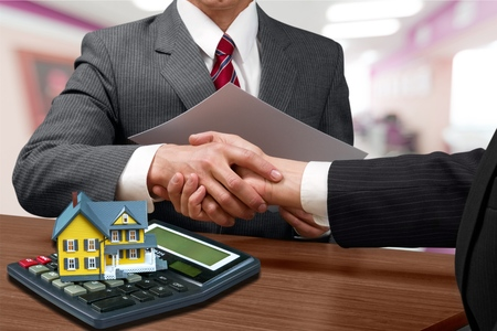 home loan: Real Estate. Stock Photo