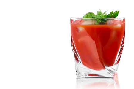 tomato sauce: Bloody Mary.