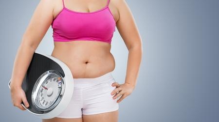 Overweight. Stock Photo