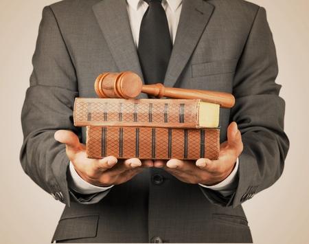 lawyer: Lawyer. Stock Photo
