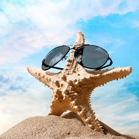 sandy brown: Sunglasses.