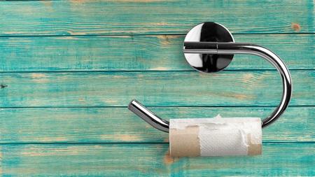 Papier toilette. Banque d'images - 52031206