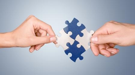 curve creative: Teamwork. Stock Photo