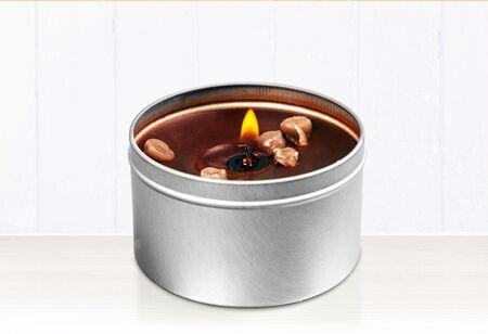 candlelit: Glass.