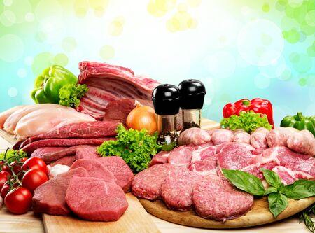 carne roja: Carne.