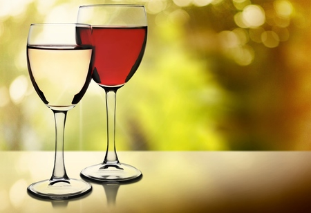 objects drink: Wineglass. Stock Photo