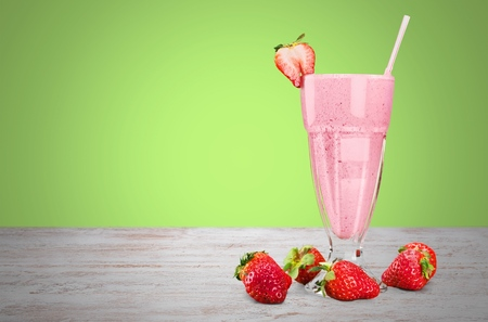 medium group of objects: Smoothie. Stock Photo