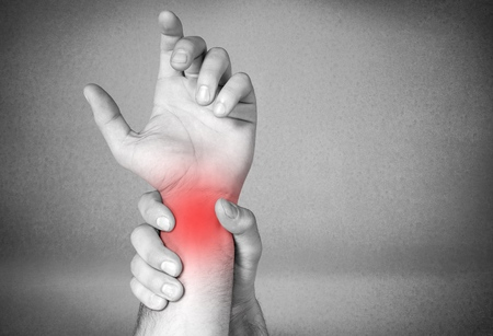 wrist pain: Physical Therapy.