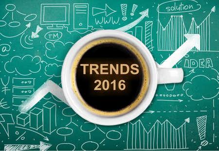 trend: Trend. Stock Photo