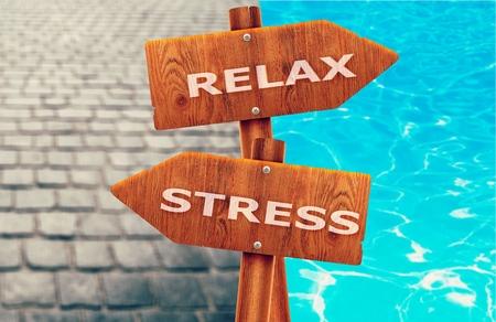 pressured: Stress. Stock Photo