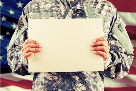 Militar. Foto de archivo - 52510721