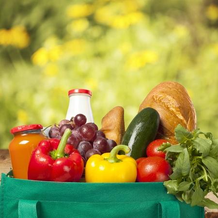 food staple: Groceries.