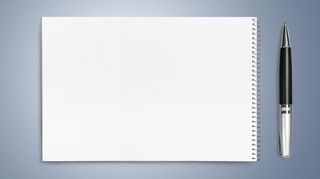 block note: Paper.
