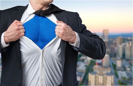 liderazgo empresarial: Héroe.