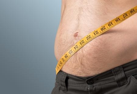 pot belly: Weight.