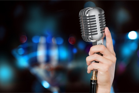 Microfoon. Stockfoto - 52616335