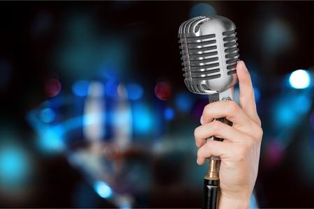Mikrofon. Standard-Bild - 52616335