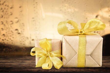 birthday religious: Gift. Stock Photo